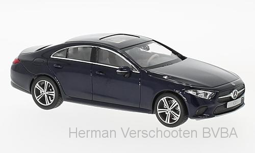 B66960543  Mercedes-Benz CLS Coupé, met. blauw, Norev
