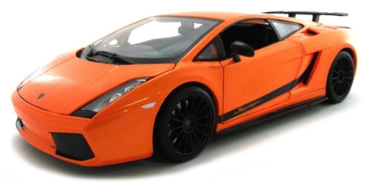 31149O  2007 Lamborghini Gallardo Superleggera, oranje, Maisto