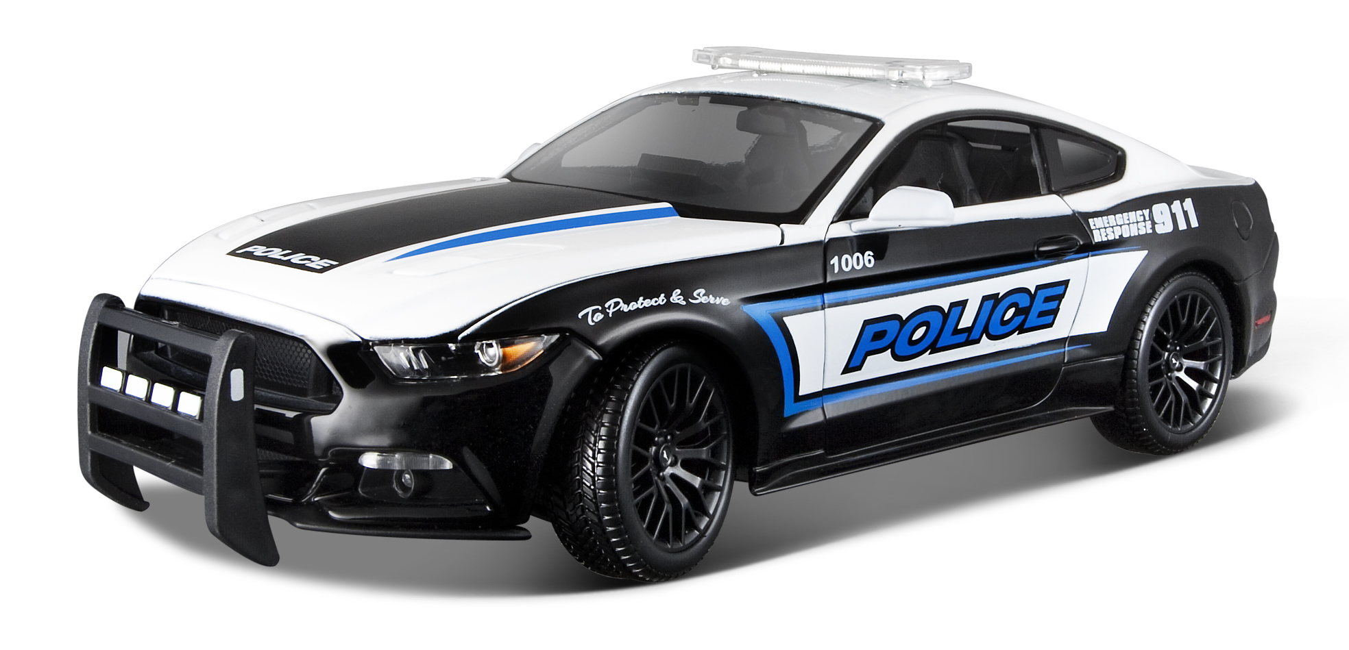 36203    Ford Mustang GT Police 2015, Maisto