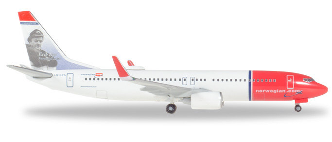 "529280-001    Boeing 737-800 ""Norwegian Air LN-DYE"", Herpa Wings"