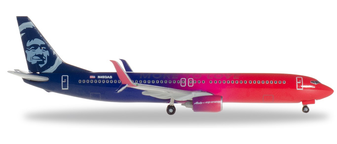 "530637    Boeing 737-900 ""Alaska Airlines -Virgin USA merger livery"", Herpa Wings"
