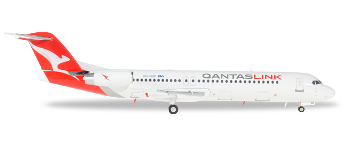 "559096    Fokker 100 ""QantasLink"", Herpa Wings"