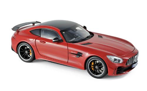 183452  Mercedes-Benz AMG GT R 2017, rood, Norev