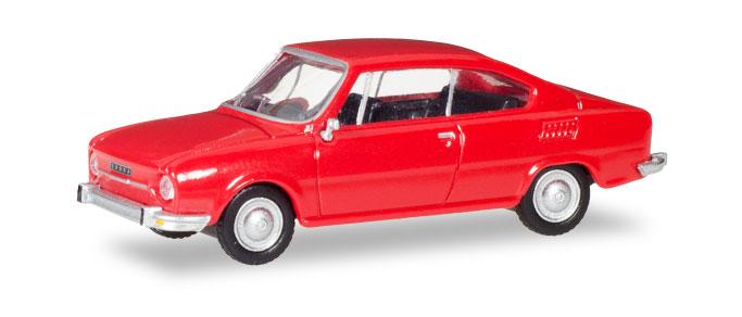 28875  Skoda 110 R, rood, Herpa