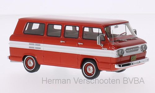 46525    Cevrolet Corvair Window Van, rood/wit, Neoscale Models