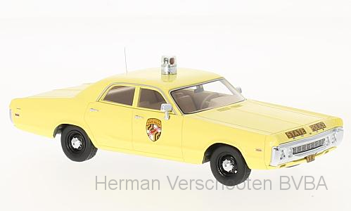 "46728    Dodge Polara, ""Maryland State Police"", Neoscale Models"
