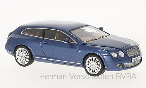 44217    Bentley Continental Flying Star by Touring, met. blauw, Neoscale Models