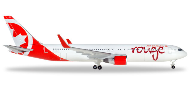 524230-001    Boeing 767-300 Air Canada Rouge, Herpa Wings