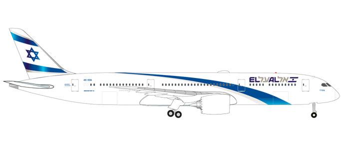 """531214  Boeing 787-9 D. """"El Al"""", Herpa Wings"""