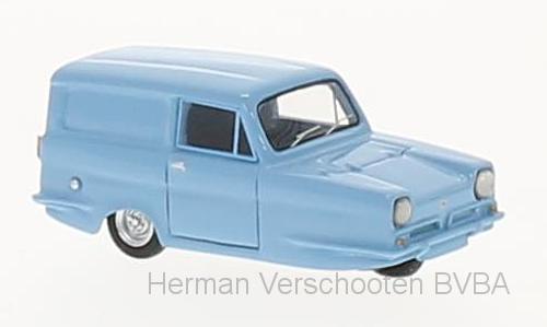 bos87455  Reliant Regal Supervan III, lichtblauw, RHD, Bos