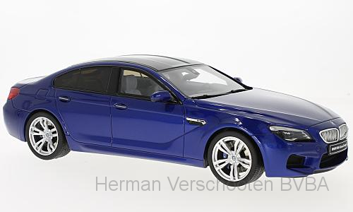 GT184  BMW M6 Grand Coupé, blauw, GT Spirit