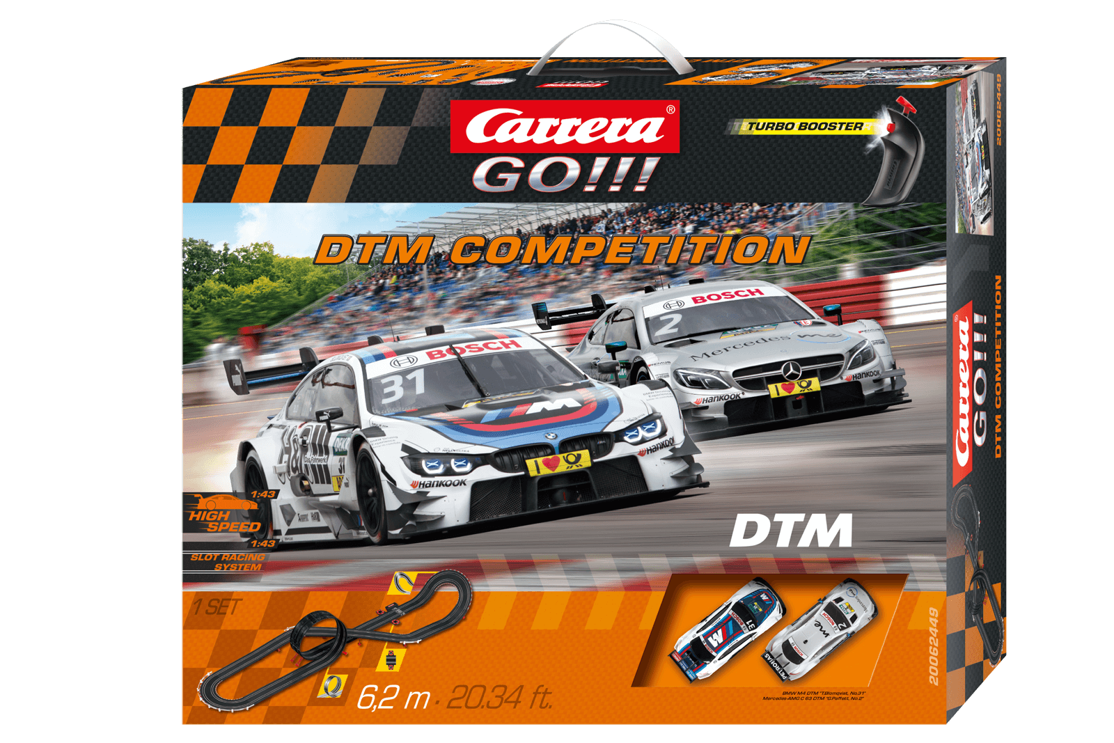 62449    Go!!! DTM Competition, Carrera