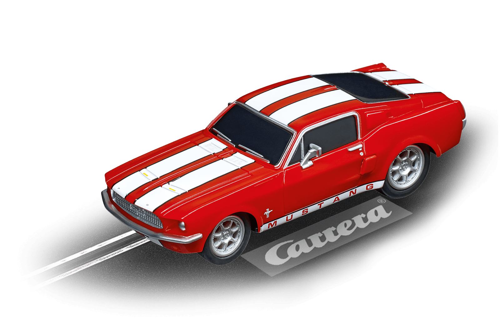 64120    Go!!! Ford Mustang '67 - Race Red, Carrera