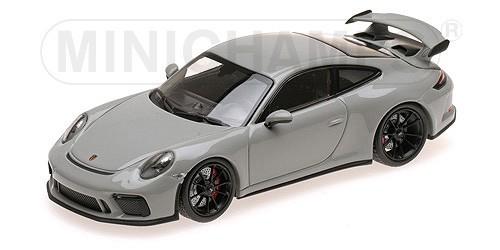410066026  Porsche 911 GT3 2017, grijs, Minichamps