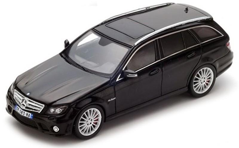 S4981  Mercedes-Benz AMG C63 T-Modell (W204) 2010, zwart, Spark