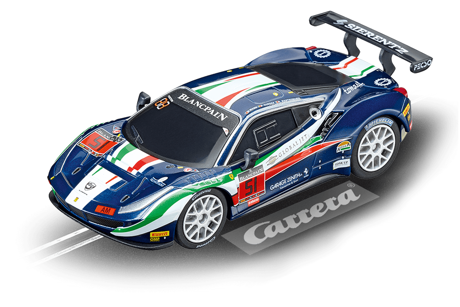 """64115  Go!!! : Ferrari 488 GT3 """"AF Corse, No. 51"""", Carrera"""