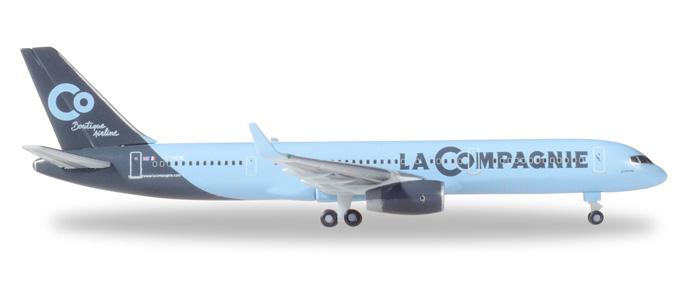 """531375  Boeing 757-200 """"La Compagnie"""", Herpa Wings"""
