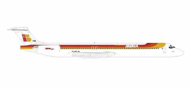 """531429  McDonnell Douglas MD-88 """"Iberia"""", Herpa Wings"""