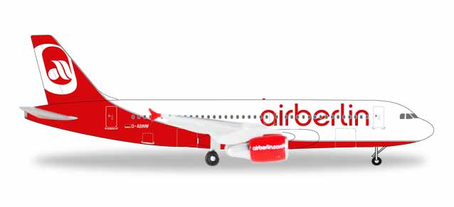 "531498    Airbus A320 ""Airberlin Last Flight"", Herpa Wings"