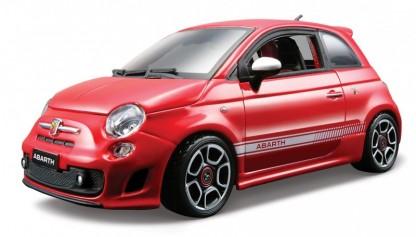 18-22111R  Fiat Abarth 500, rood, Bburago