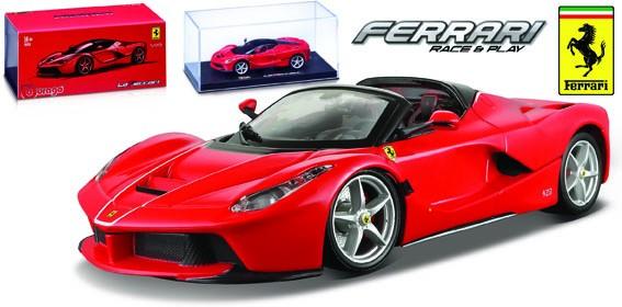 18-36907  Ferrari LaFerrari Aperta, rood, Bburago