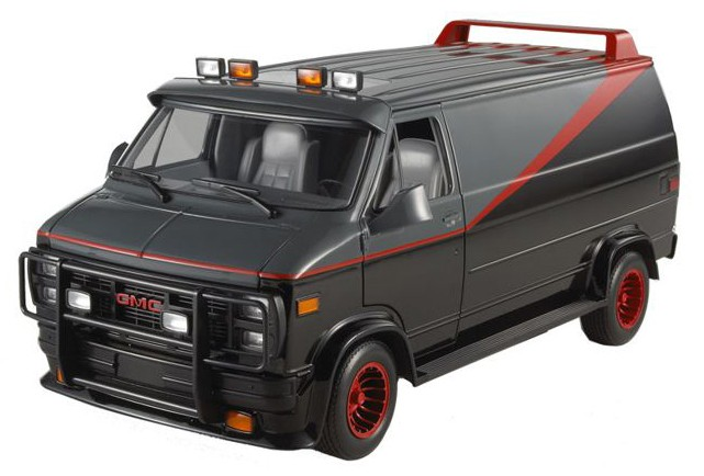 "86515    1983 GMC Vandura ""The A-Team"", Greenlight"
