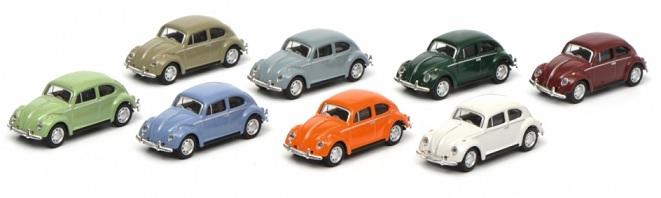 452635300  VW Kever, set (8st.), Schuco