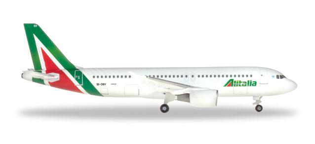 "531542 Airbus A320 ""Alitalia Primo Levi"", Herpa Wings"