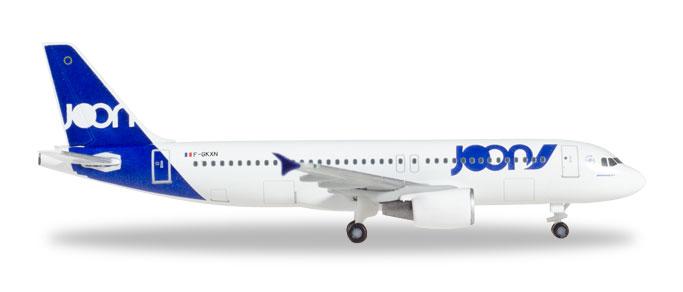 """531580 Airbus A320 """"Joon"""", Herpa Wings"""