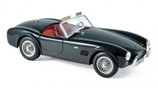 182754 AC Cobra 289 1963, zwart, Norev
