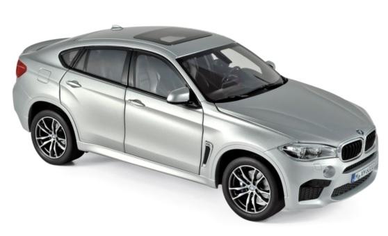 183200 BMW X6 M, zilver, Norev