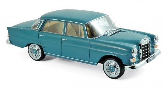 183577 Mercedes-Benz 200 1966, groen, Norev