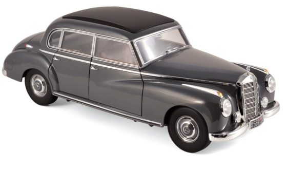 183591 Mercedes-Benz 300 1955, donkergrijs, Norev