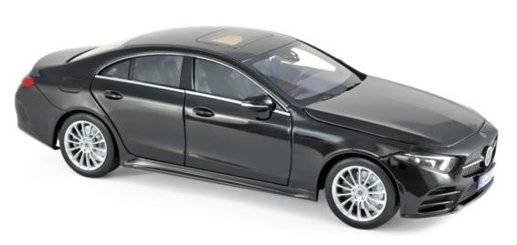 183592 Mercedes-Benz CLS 2018, zwart, Norev
