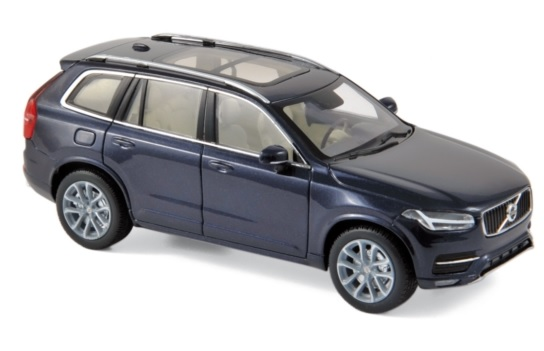 870054 Volvo XC90 2015, Magic Blue, Norev