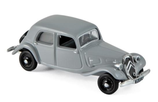 153027 Citroën Traction 11A 1937, grijs, Norev