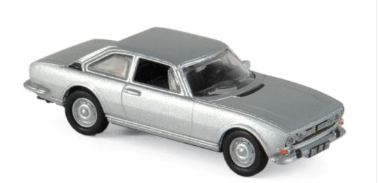 475462 Peugeot 504 1971, zilver, Norev
