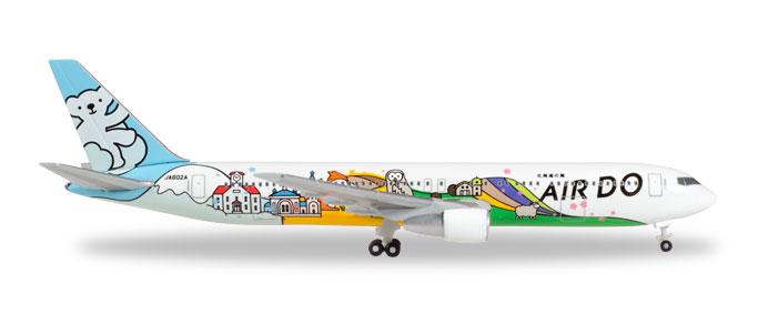"531016 Boeing 767-300 ""Air Do Bear Do Hokkaido Jet"", Herpa Wings"