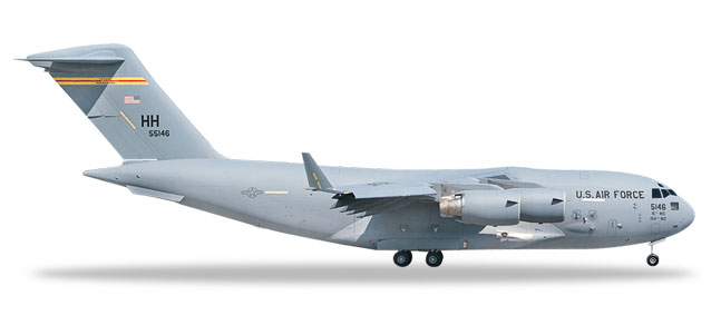 "531665 Boeing C-17A Gl. III ""USAF 15th AW, Sp. of Hawai'i-Ke Aloha"", Herpa Wings"