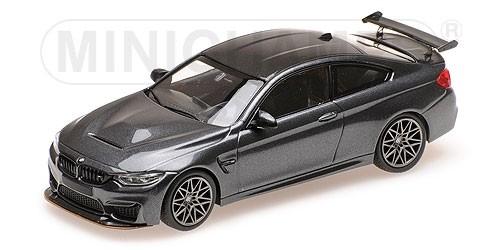 410025224 BMW M4 GTS 2016, grijs met./grijze wielen, Minichamps