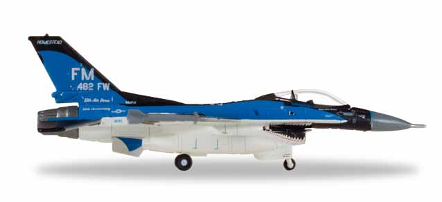 "559119 F-16C USAF - 93rd FS ""Florida Makos"", Herpa Wings"