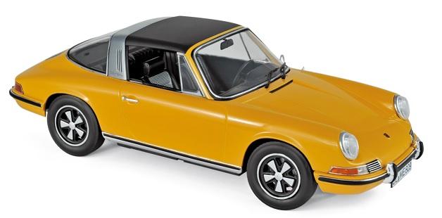187633 Porsche 911 E Targa 1969, oranje, Norev