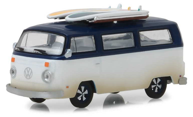 29956 1973 Volkswagen T2 + Surf Boards, Greenlight