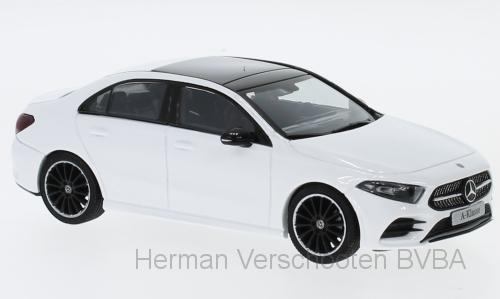 B66960431 Mercedes-Benz A-klasse V177 Limousine, wit, Herpa