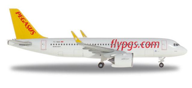 "531788 Airbus A320neo ""Pegasus Airlines"", Herpa Wings"