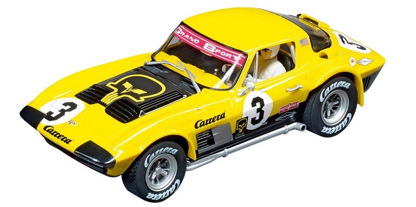 "23866 DIG124: Chevrolet Corvette Grand Sport ""Time Twist II"", Limited Edition 2018, Carrera"