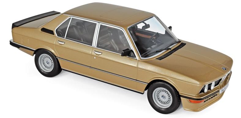183268 BMW M 535i 1980, goud, Norev