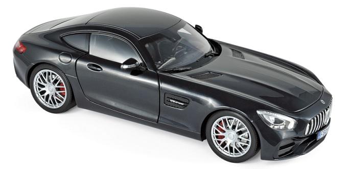 183497 Mercedes-Benz AMG GT S 2018, zwart met., Norev