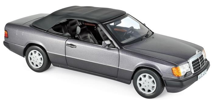 183567 Mercedes-Benz 300 CE-24 Cabriolet 1990, Paars met., Norev