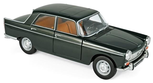 184833 Peugeot 404 1965, Antisue Groen, Norev